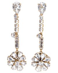 Erickson Beamon - Metallic Hello Sweetie Flower Earring - Lyst