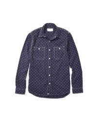 Denim & Supply Ralph Lauren - Blue Star Slub Cotton Workshirt for Men - Lyst