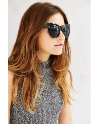 Quay - Gray Cha Cha Sunglasses - Lyst