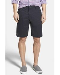 Lacoste | Blue Classic Fit Bermuda Shorts for Men | Lyst
