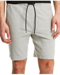Kenneth Cole Reaction | Gray Pique Shorts for Men | Lyst