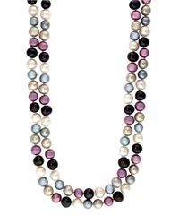 Effy | Multicolor Multi-color Pearl Necklace | Lyst
