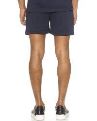 2 X H Brothers Blue Bjonne Shorts for men