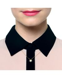 Lulu Frost - Pink Code 14Kt Star Necklace - Lyst