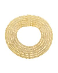 Rosantica | Metallic Cleopatra Golddipped Necklace | Lyst
