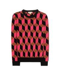 Michael Kors | Multicolor Cashmere Sweater | Lyst