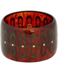 Mark Davis - Brown Yellow Sapphire & Bakelite Judy Bangle - Lyst