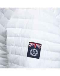 Henri Lloyd | White Lillie Lightweight Down Jacket | Lyst