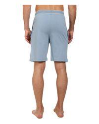 Original Penguin - Blue Comfortable Soft Knit Sleep Shorts for Men - Lyst