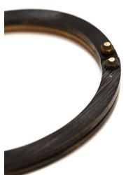 Cedric Jacquemyn Brown 'zinave' Bracelet for men