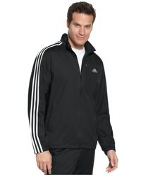 Adidas - Black Drive 2 Woven Wind Jacket for Men - Lyst