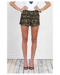 Henry & Belle - Brown Trouser Short Short - Lyst