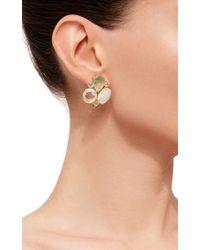 Bounkit | Green Convertible Sea Shell Earrings | Lyst