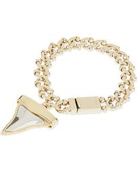 Givenchy - Metallic Shark Tooth Bracelet, Women's, Multi - Lyst