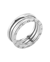BVLGARI | Metallic Pre-owned B Zero 1 Ring in 18kw | Lyst