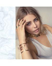 Bing Bang - Metallic Aurora Duality Collar - Lyst