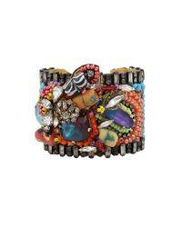Erickson Beamon Multicolor Fashion Tribe Cuff