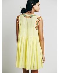 Free People | Yellow Fp One Modern Mexico Dress | Lyst