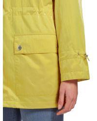 Cloud Nine - Yellow Parka With Packaway Hood - Lyst