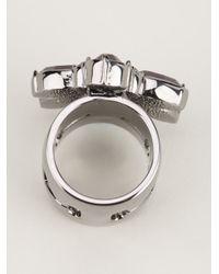 Mawi | Metallic Set Crystal Ring | Lyst