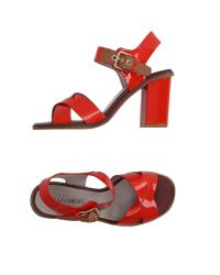 CafeNoir | Red Sandals | Lyst