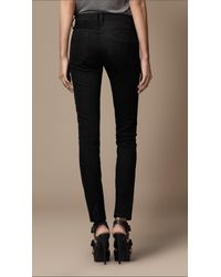 Burberry Brit - Westbourne Black Skinny Fit Jeans - Lyst