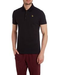 Le Coq Sportif | Black Coq D`or Touron Short Sleeve Polo for Men | Lyst