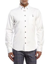 Moods Of Norway - White Alex Vik Button-Down Shirt for Men - Lyst