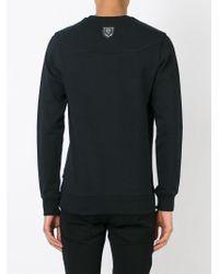 Philipp Plein - Black 'medallion' Sweatshirt for Men - Lyst