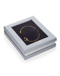 Tai | Metallic Pinch Bracelet | Lyst