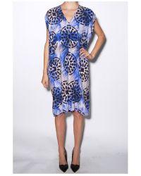 Zero + Maria Cornejo - Blue Wren Ina Dress - Lyst
