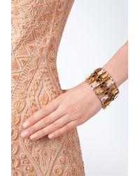 Erickson Beamon - Metallic Gold-Plated Bracelet - Gold - Lyst