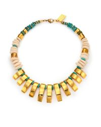 Lizzie Fortunato | Metallic 'sugar Reef' Necklace | Lyst
