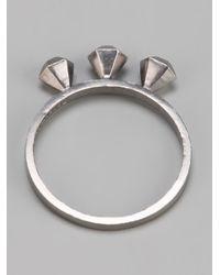 RebekkaRebekka - Metallic The Diamond Ring - Lyst