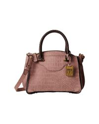 Frye | Purple Bianca Small Satchel | Lyst