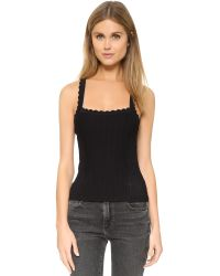Nanette Lepore | Black Enchantress Corset Blouse | Lyst