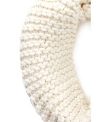 Forever 21 | Natural Chunky Ribbed Infinity Scarf | Lyst
