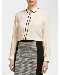 Weekend by Maxmara Natural Contrast Blouse
