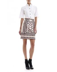 Temperley London - Brown Anfisa Quilted Skirt - Lyst
