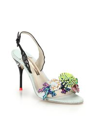 Sophia Webster - Black Lilico Underwater Slingback Sandals - Lyst