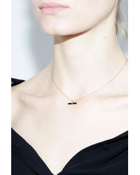 Jene Despain Black Nova Necklace