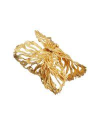 Alexander McQueen - Metallic Fish Bracelet - Lyst