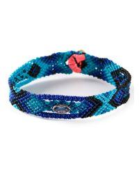 Dezso by Sara Beltran | Blue 'mexican' Bracelet | Lyst
