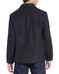 Hart Schaffner Marx - Gray Wool-blend Jacket for Men - Lyst