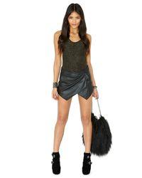 Missguided - Black Tahir Glitter Bodysuit - Lyst