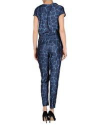 Adidas Originals - Blue Jumpsuit - Lyst