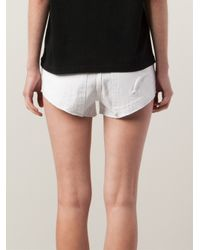 Filles A Papa White 'Chastity' Shorts