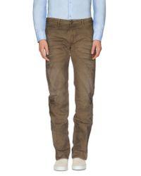 DIESEL - Natural Casual Trouser for Men - Lyst
