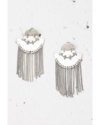 Forever 21 | Metallic Chain Fringe Duster Earrings | Lyst