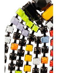 Tom Binns Multicolor Colourful Chandelier Earrings
